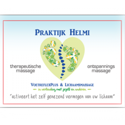 VoetreflexPlus-praktijk Helmi Logo