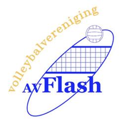 Vollybalvereniging AV Flash Logo